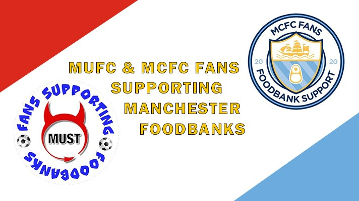 United & City Supporters make joint Foodbank Support Appeal
